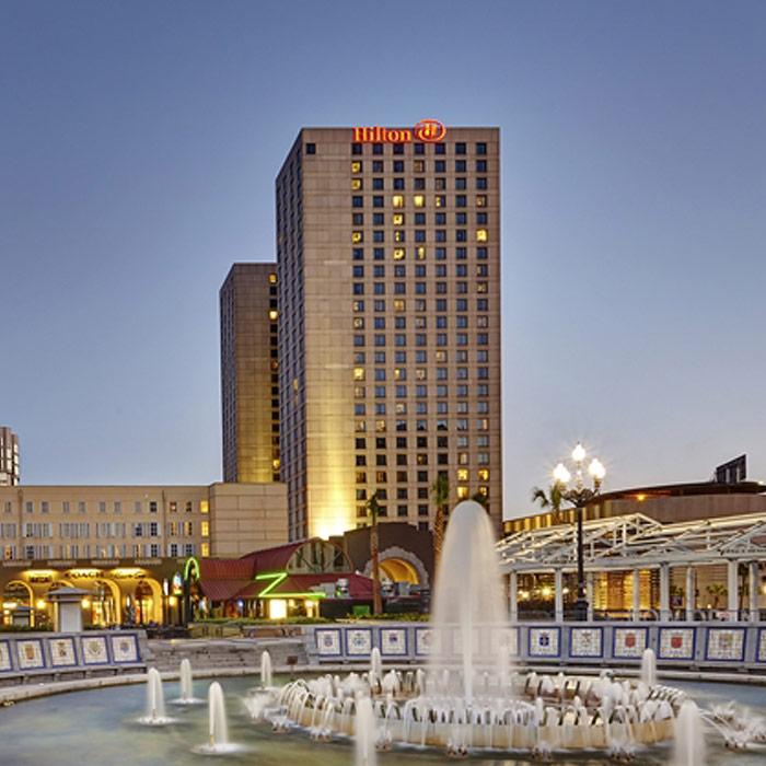 Hilton Hotel New Orleans