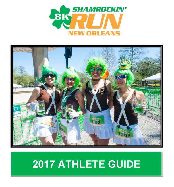 2017 Shamrockin' Run New Orleans 8K Athlete Guide